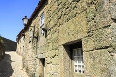Дома †Sortelha «средневековые каменные Стоковое Изображение RF