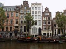 Дома Амстердама стоковые изображения
