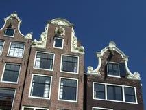 Дома Амстердам Стоковые Фотографии RF