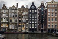Дома Амстердам Стоковые Фото