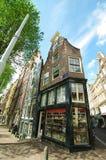 Дома Амстердама стоковое изображение