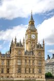 Дома великобританского парламента и большого Бен Стоковое Фото