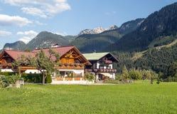 Дома в Австрии стоковое изображение rf