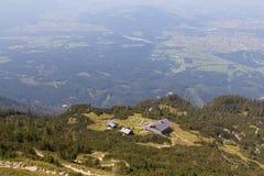 Дома в горах Стоковая Фотография RF