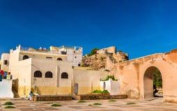 Дома в городке Azemmour, Марокко Стоковое Фото