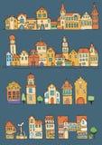 Дома в голландском стиле Стоковое Изображение RF