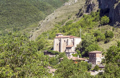 Дома в деревне Стоковое Фото