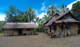 Дома в деревне стоковые фото