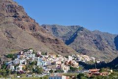 Дома в Ла Gomera Calera Ла Стоковая Фотография