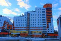 Дома в Минске Стоковое Изображение RF