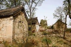 Дома в новой деревне Milulou стоковые фото