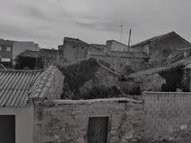 Дома в руинах Стоковые Фото