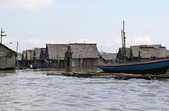 Дома в Belen - Перу стоковое фото