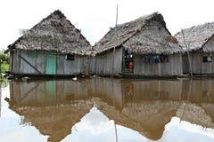 Дома в Belen - Перу стоковое изображение rf