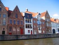 Дома в Brugge стоковые изображения rf