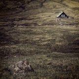 Дома в saksun Стоковые Изображения RF