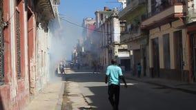 Дома Гаваны окуриваются видеоматериал