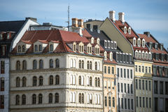 Дома Дрезден Стоковые Фотографии RF