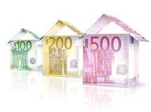 Дома денег Стоковые Изображения RF