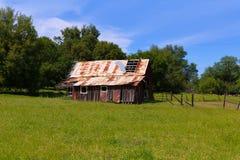 Дома западного стиля Calfornia деревянные Стоковое фото RF
