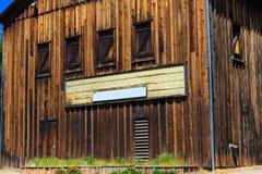 Дома западного стиля Calfornia деревянные Стоковое Изображение