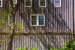 Дома западного стиля Calfornia деревянные Стоковые Изображения