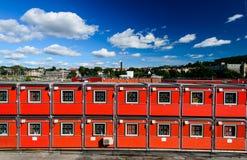 Дома контейнера Стоковая Фотография RF