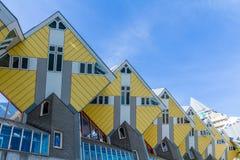 Дома куба, Роттердам Нидерланды Стоковые Фото