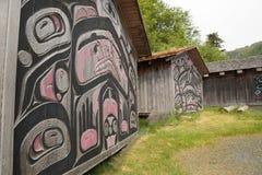 Дома клана коренного американца Стоковые Изображения