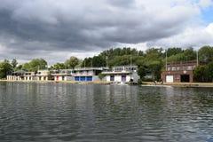 Дома клуба rowing Оксфордского университета Стоковое Изображение