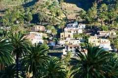 Дома Ла Gomera Стоковое Изображение
