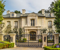 Дома мечты Беверли-Хиллз Калифорнии Стоковое Фото