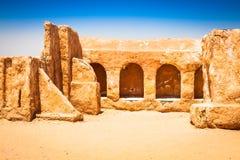 Дома от планеты Tatouine - комплекта фильма Звездных войн, Nefta Туниса Стоковое фото RF