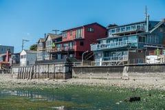 Дома портового района с малой водой 3 Стоковые Изображения RF