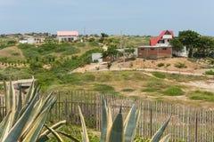 Дома пляжа Южной Америки 1 Стоковые Изображения RF