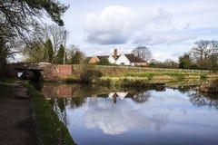 Дома рядом с водой Стоковое фото RF