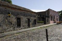 Дома Сакраменто del Colonia Стоковое Фото