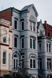 Дома строки в конгрессе США, Вашингтоне, DC стоковая фотография