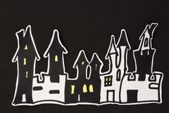 Дома хеллоуина Стоковая Фотография