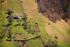 дома холма Стоковые Фотографии RF