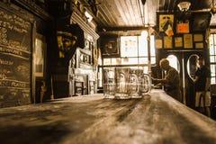 Дома эля McSorleys паб NYC старого ирландский Стоковые Изображения RF