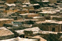 Дома для бедных человеков в Египте Стоковые Изображения