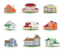дома Стоковое Изображение