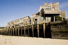 дома canon пляжа Стоковые Фотографии RF