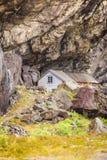 Дома Helleren в Jossingfjord, Норвегии Стоковое фото RF