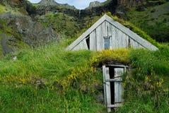 Дома Nupstadur, Исландии Стоковые Фото