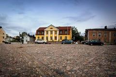 Дома Poorvo, Финляндия Стоковая Фотография