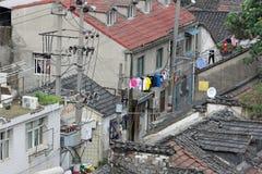 Дома ` s Китая прежние стоковые фотографии rf