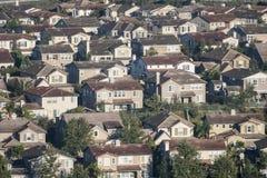 Дома Simi Valley стоковое изображение rf