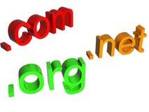 домены Стоковая Фотография RF